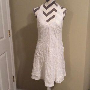 Ralph Lauren white eyelet halter dress size 6